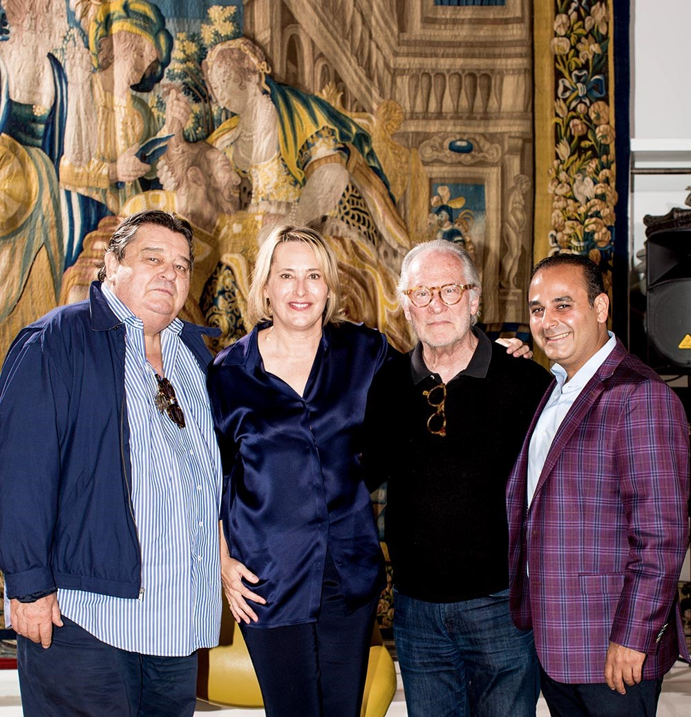 Vincent Jacquard, Mallery Roberts Morgan, Richard Shapiro, Soheil Mehraban at After Hours Design Lounge